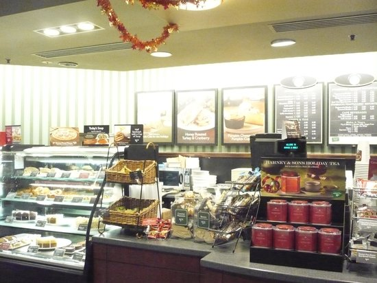 Barnes & Noble Bookstore cafe: Good it is there!