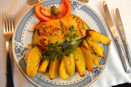 Villa d'Arcos: Cod dinner