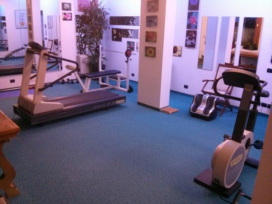 Relais Le Betulle : Totally lame fitness area and options, shouldn't even market this as a feature