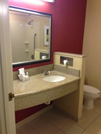 Courtyard Amarillo West/Medical Center: Sink