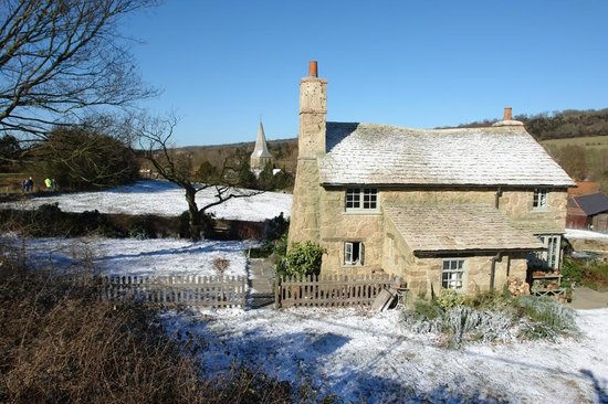 Shere, UK: Rose Hill Cottage from the film 'The Holiday'