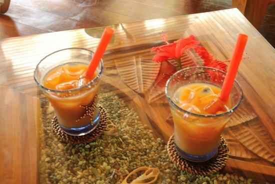 Le Duc de Praslin: Cocktail de bienvenue