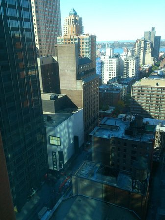 Novotel New York Times Square: Blick aus Zimmer 2109