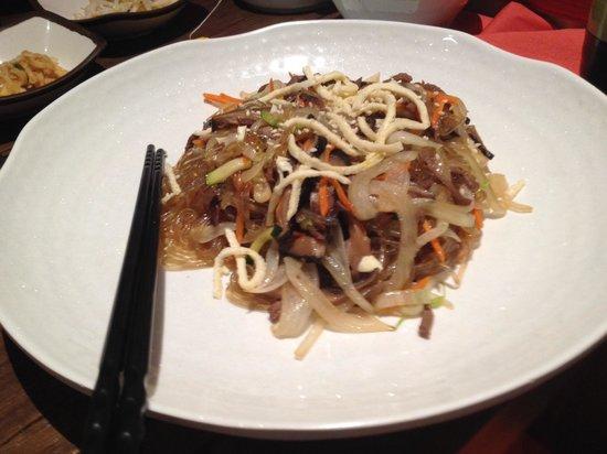 Korean Restaurant: Heerlijk gerecht