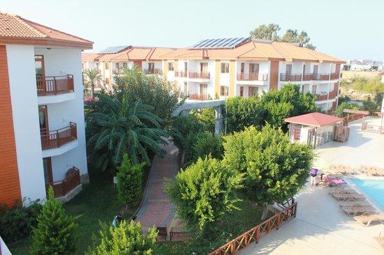 Eftalia Holiday Village: View from balcony