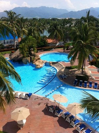 Vamar Vallarta All Inclusive Marina and Beach Resort : Desde mi habitación