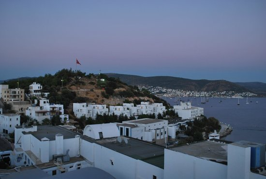 Dolce Bodrum Hotel and Beach club: View from the balcony