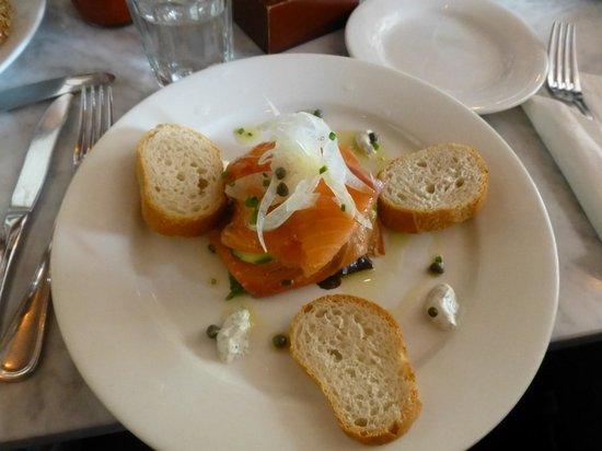 La Bergamote Pastries: Saumon Fume