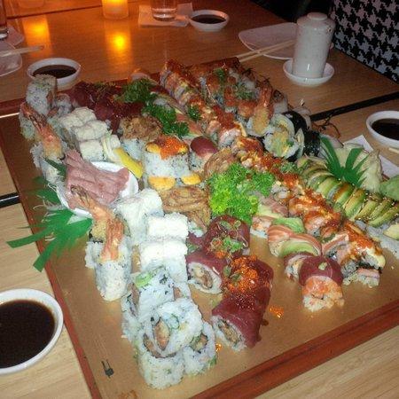 Douzo: Great Sushi and Sashimi selection!