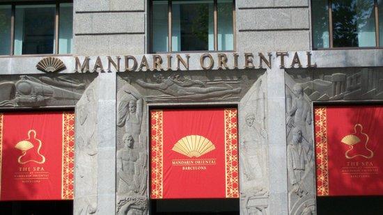 Mandarin Oriental, Barcelona: Lovely Location