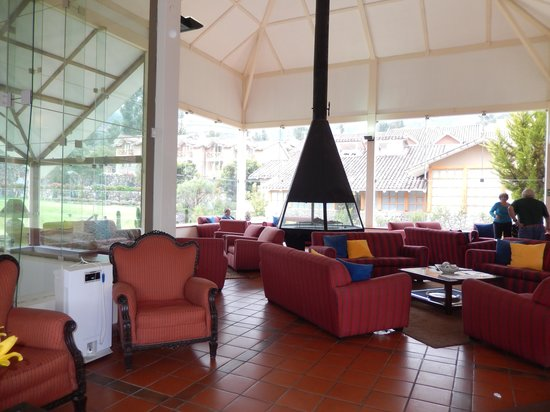 Casa Andina Private Collection Valle Sagrado: cozy lobby