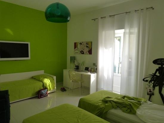 Palazzo Abagnale: the green room