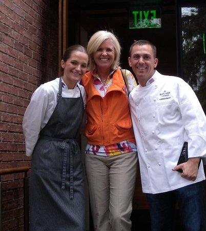 The White House Tavern : Lisa, Head Chef, and Andy, Manager