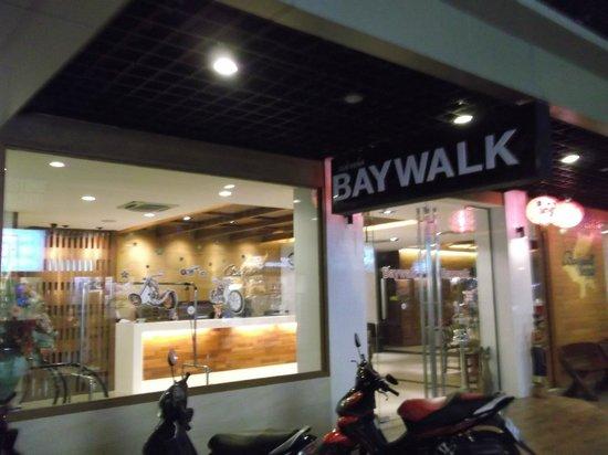 Baywalk Residence Pattaya: Вход.