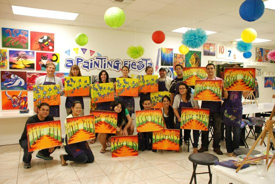 A Painting Fiesta