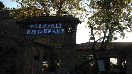Mermerli Restaurant : Le Restaurant
