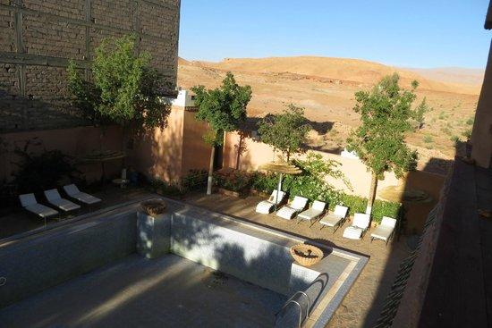 Hotel Kasbah Lamrani: Voila la piscine annoncé...vide.