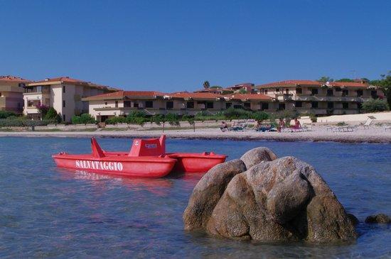 Hotel Gabbiano Azzurro: Baywatch :)