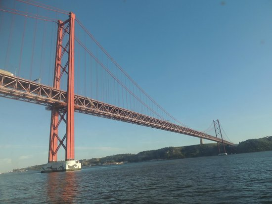 Río Tajo: Ponte 25 de Abril