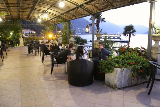 Grand Hotel Villa Serbelloni: The outdoor bar