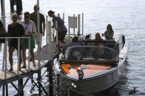 Grand Hotel Villa Serbelloni: Bellagio Water Taxi Boat Tour