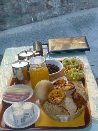 Vitoria Village : Наш завтрак:)