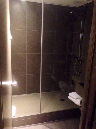 Novotel Nancy : Douche d'une chambre suppl. LD