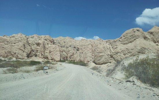 Quebrada de Las Flechas - Angastaco: Son muchos kmts.