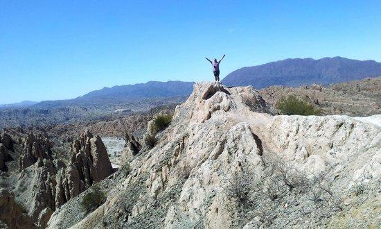 Quebrada de Las Flechas - Angastaco: En la Cima .Buscar este lugar y animarse