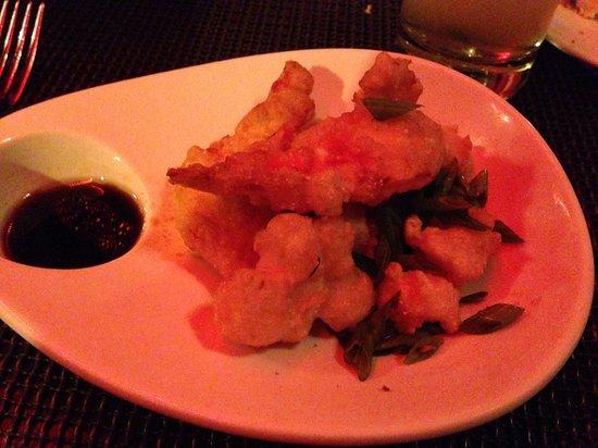 dba - dante boccuzzi akron: $17 lobster tempura appetizer