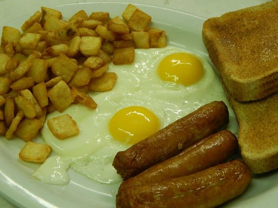 The Knotty Pine Restaurant : Breakfast Special
