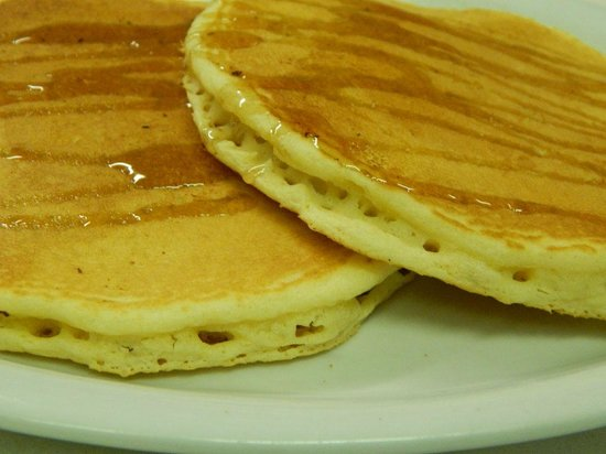 The Knotty Pine Restaurant : Pancakes