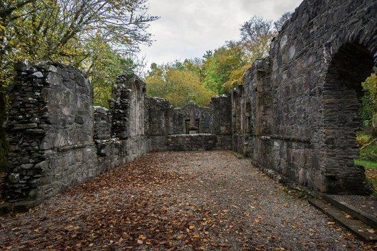Dunstaffnage Castle & Chapel: Inside the chapel