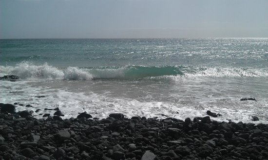 TUI MAGIC LIFE Fuerteventura: Stranden nedenfor hotellet.