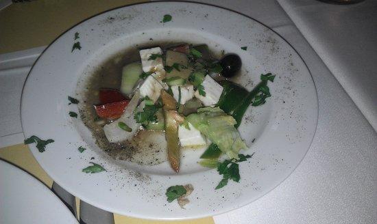 TUI MAGIC LIFE Fuerteventura: Salat-tallerken.