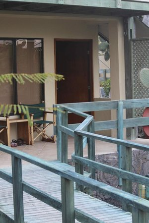 Finch Bay Galapagos Hotel : Entry to room