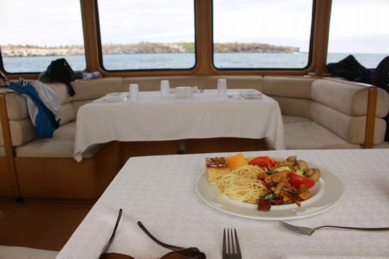 Finch Bay Galapagos Hotel: On the Yacht