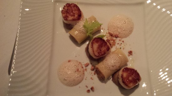 Restaurant Il Cortile : Saint jacques délicieuses aux champignons