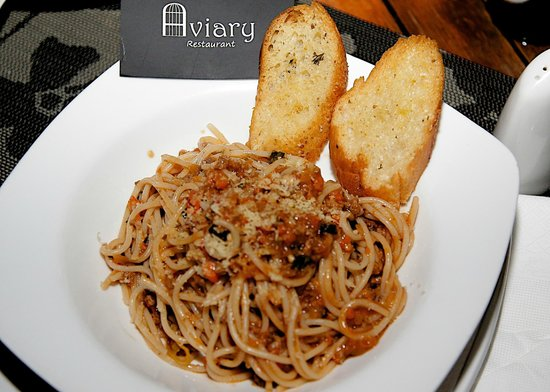Aviary Restaurant: Hot Pasta
