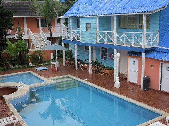 Sunset Hotel: la piscina es deli!