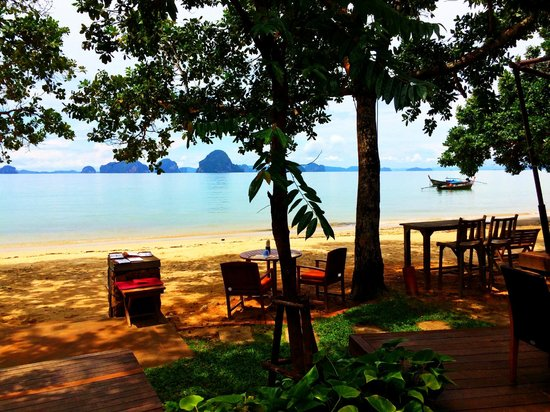 The Tubkaak Krabi Boutique Resort : View From the Restaurant