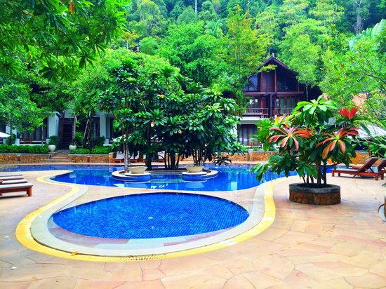 The Tubkaak Krabi Boutique Resort : Pool Area