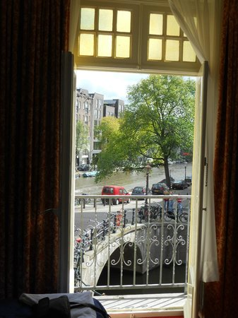 Amsterdam Wiechmann Hotel: View from our room