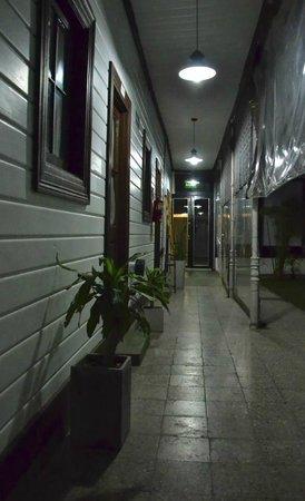 Hostel Berisso: Pasillo Interno