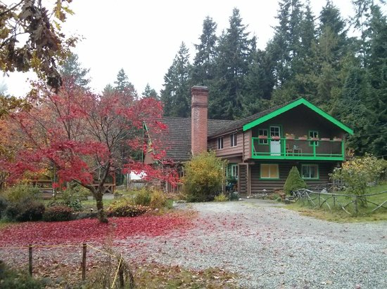 Cottage Al Sole: House and Fall Colours