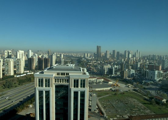 Istanbul Marriott Hotel Asia: View from the Room