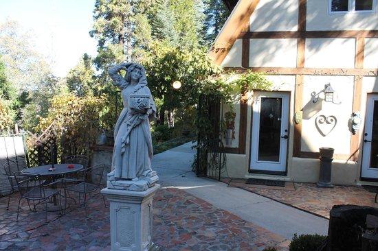 Fleur de Lac European Inn B&B: Courtyard