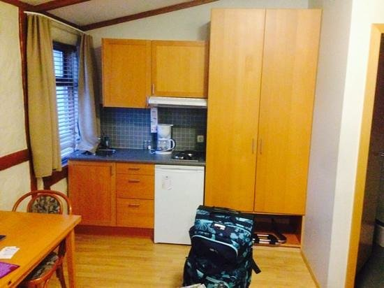 Hotel Fron: Apartment Kitchen