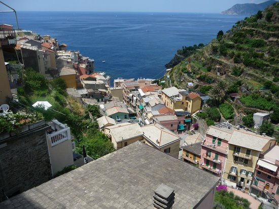 Locanda Giuliana : View from balcony, Billy's just below