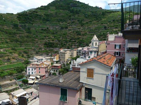Locanda Giuliana : View toward church from balcony